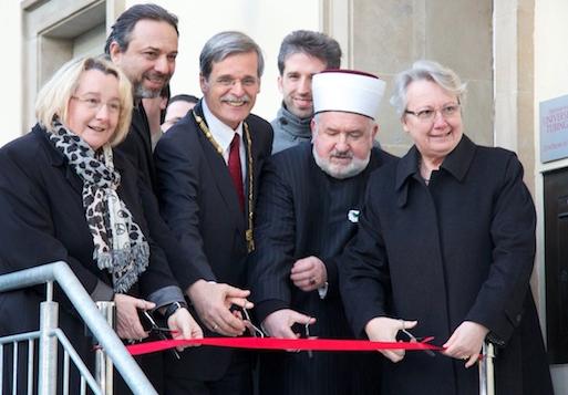 Schavan bei der Eröffung des Zentrums für Islamische Theologie in Tübingen  (Foto: Uni Tübingen)