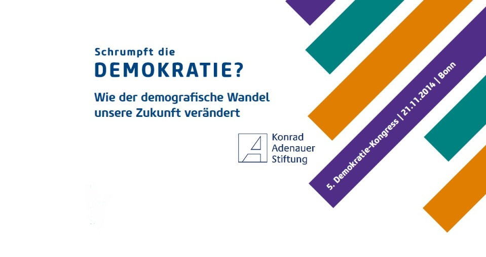 Islam, Demokratie, Demographie: Ein Kommentar aus muslimischer Perspektive auf brennende gesellschaftliche Fragen anlässlich des 5. Demokratie-Kongresses der Konrad-Adenauer-Stiftung.